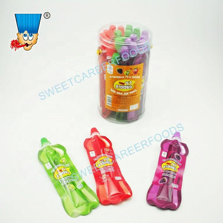 Toothpaste Squeeze Gel Sour Fruit Jam Liquid Jelly Candy Sweets