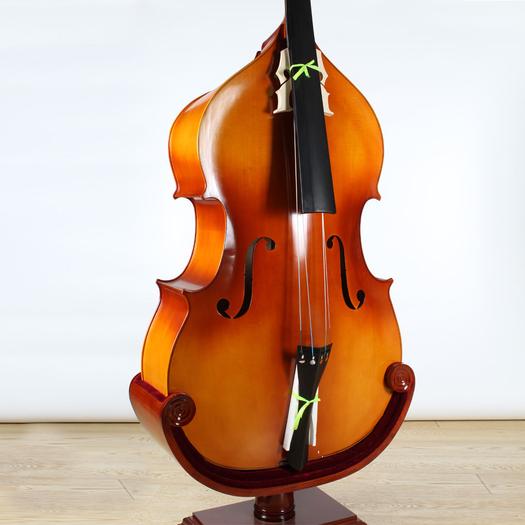 French Style Laminated Plywood Double Bass 3/4 Size