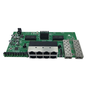 GPON/EPON ONU Solution 8 port Managed 10/100/1000M Ethernet Reverse PoE Switch with Fiber SFP