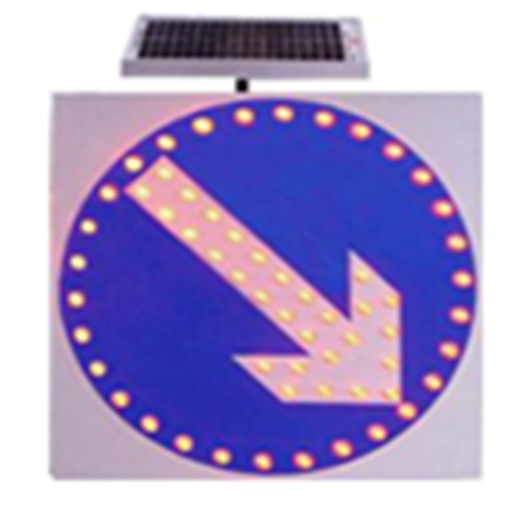 Traffic Lights LED Solar Powered Pedestrian Traffic Signs Warning Light