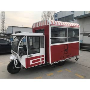 Electric Gasoline Energy Snack Food Cart Mobile Fast Food Truck For Sale Gasoline Outdoor Street Mobile Fast Food Truck For Sale