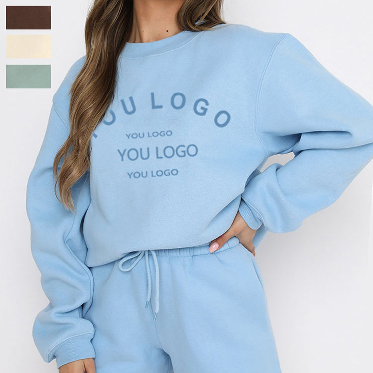 Women Sweatshirt Ladies can Customization Casual Pullovers Girls Long Sleeve Spring Autumn Winter