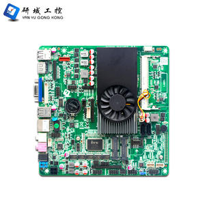core i3 i5 i7 thin itx motherboard DDR3 RAM max up to 8G Dual core Mini pc Motherboard