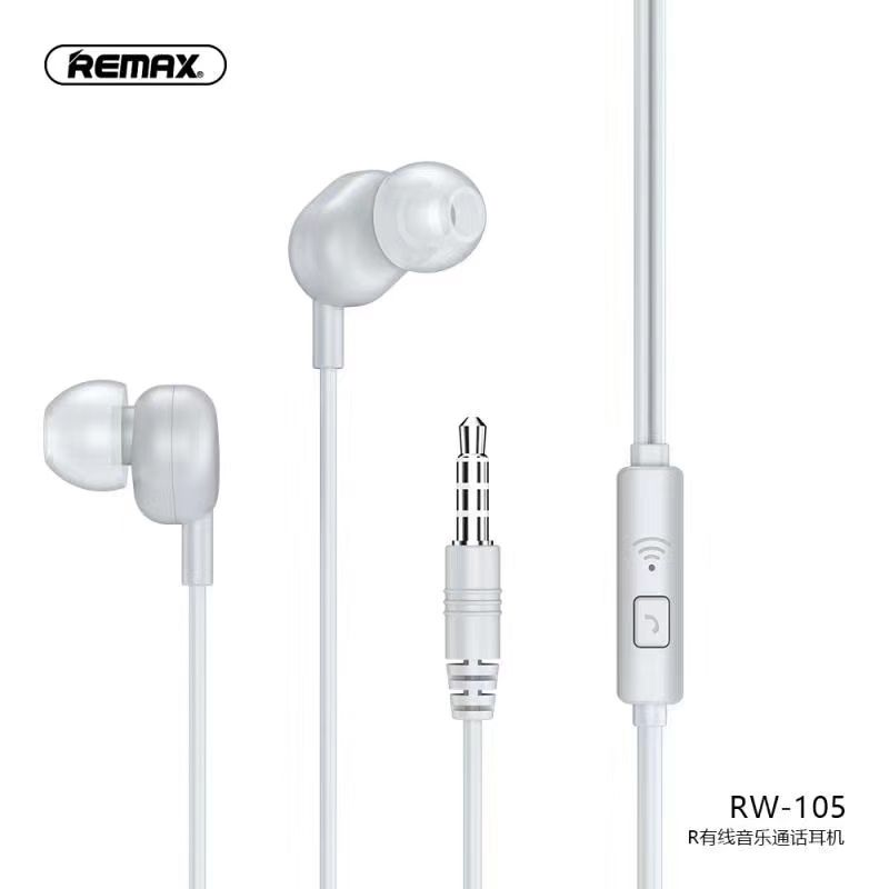 Remax best sell low price 3.5mm wired mobile calls and music earphone