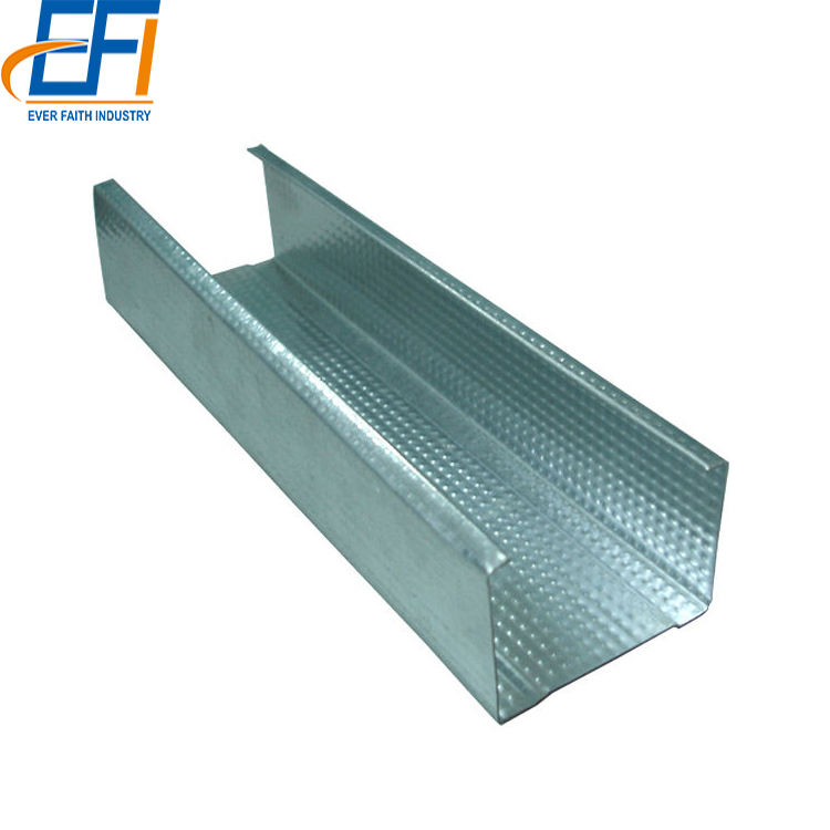 Galvanized DRY wall Metal Stud and track Steel Material drywall metal studs and tracks