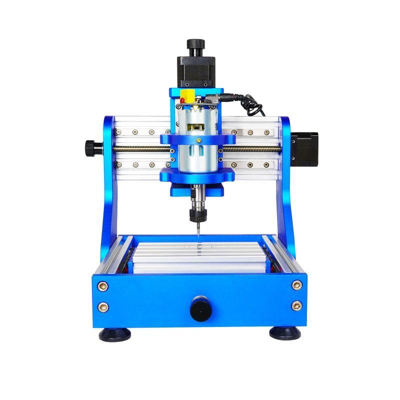 Assembled pack square rail diy mini CNC 1310 PRO 2 in 1 desktop pvc candle cnc router cnc Milling Machine laser cutting machine