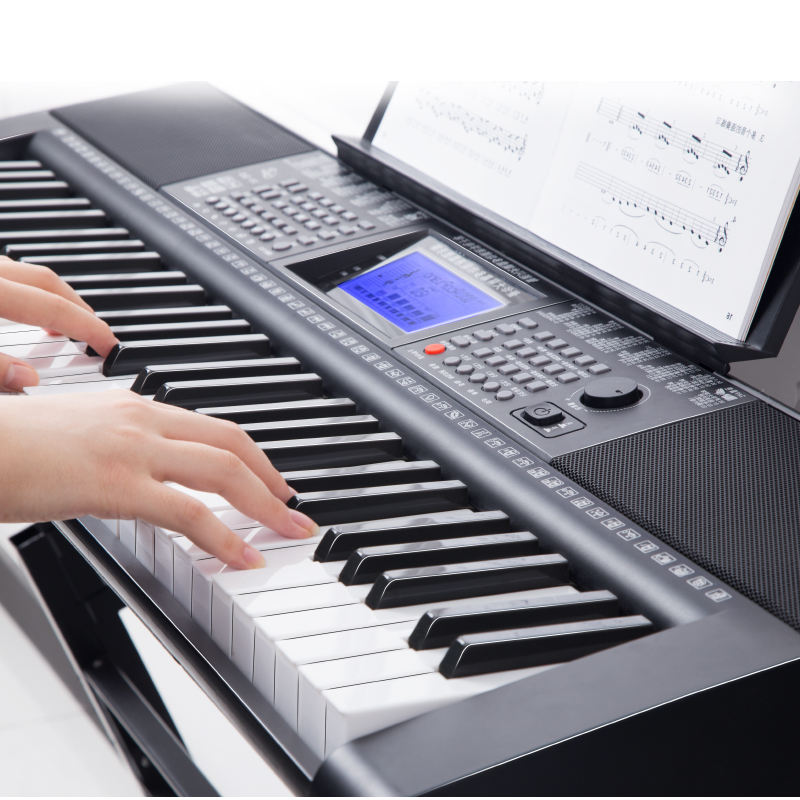 61 Electronic Organ XY365 Piano Keyboard Musical Instrument Support Keys Intelligent teaching Kids learning study function