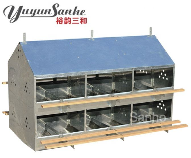 24 Hole Manual Eggs Nest Boxes for chicken house/24 Holes Hen Layer Egg Nest Box