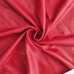 Bright soft Suerte Textile Elastic artificial leather foil knitted fabric for Stage clothes