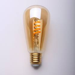 2020 New High Quality ST Shape ST45 Amber Soft Smart Filament Replacement Led Bulbs