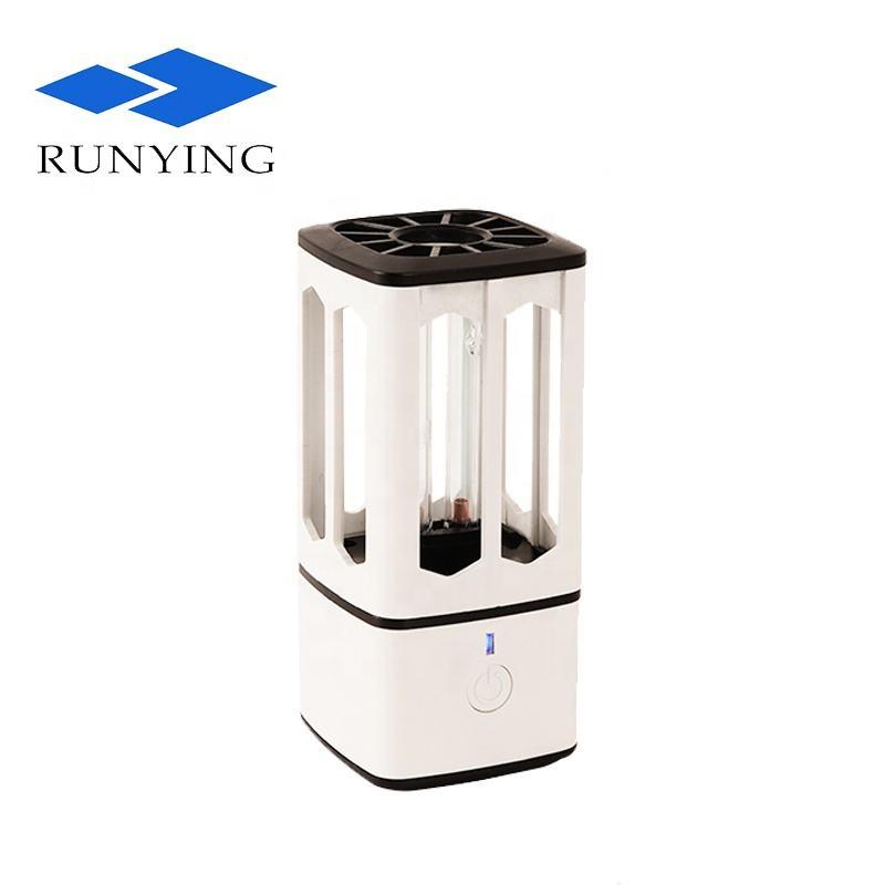 Ultravioleta anti-bacterias lámpara coche esterilizador lámpara UVC desinfección lámpara eficiente germicida <span class=keywords><strong>UV</strong></span> luz led