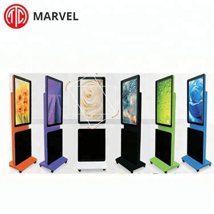 Floor Stand punto multi touch dello schermo pubblicità <span class=keywords><strong>lcd</strong></span> mini video player