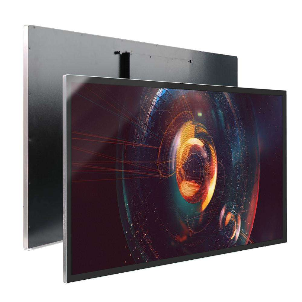 Android digital signage screen 55 inch with wall mount advertisement software system