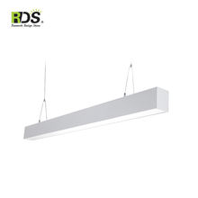 ETL CETL 8 Ft led Linear Fixture, Led Linear Luminaire, Linear Wall Mounted Light Fixture