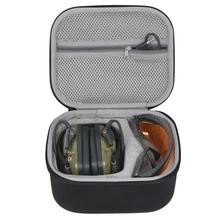 Hard Case for HowardLeight by Honeywell Impact Sport Earmuff and Genesis Sharp-Shooter Safety Eyewear Glasses