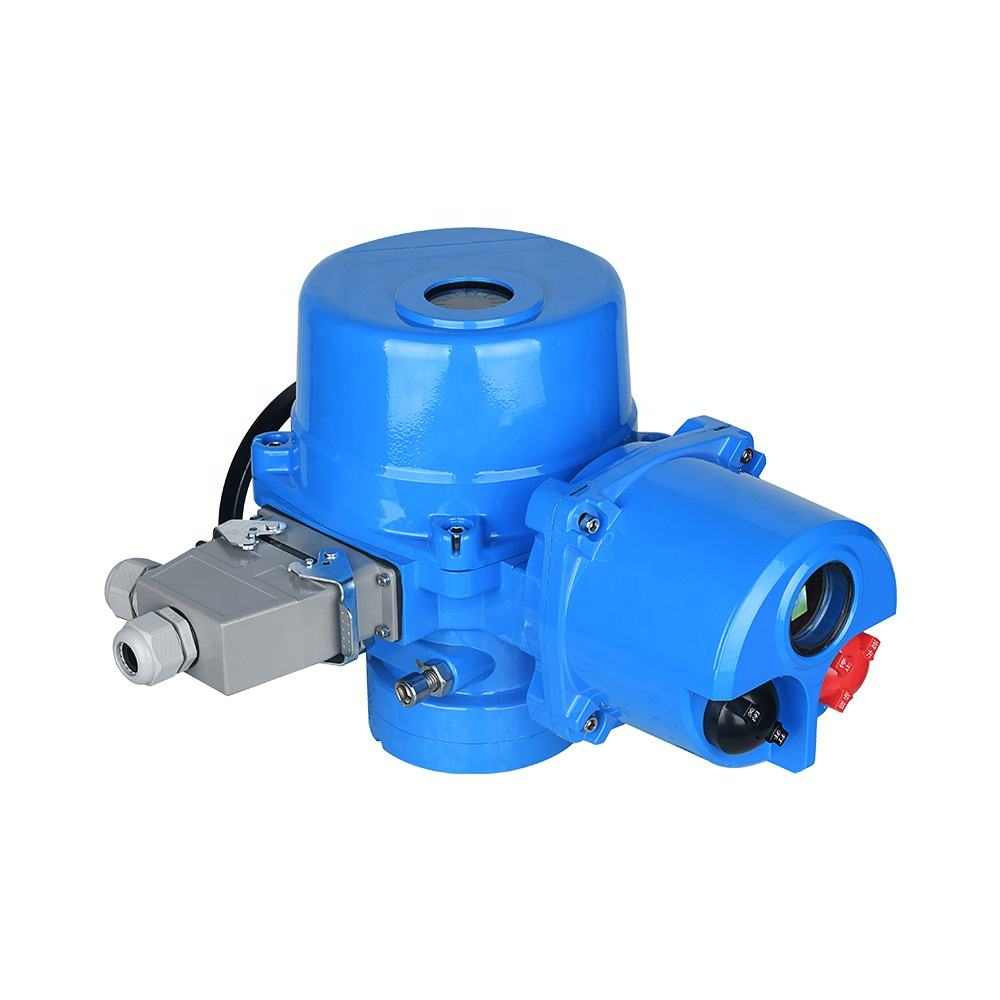 Customizable QT10 intelligent rotary electric valve actuator