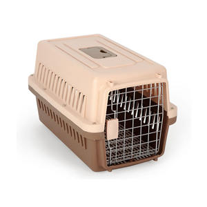 Wholesale Airline Approved PP Plastic Cat Dog Cage Box Pet Travel Carrier
