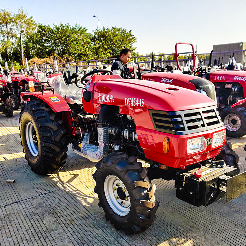 45Hp Dongfeng 454 Mini Tractors For Agriculture 4X4