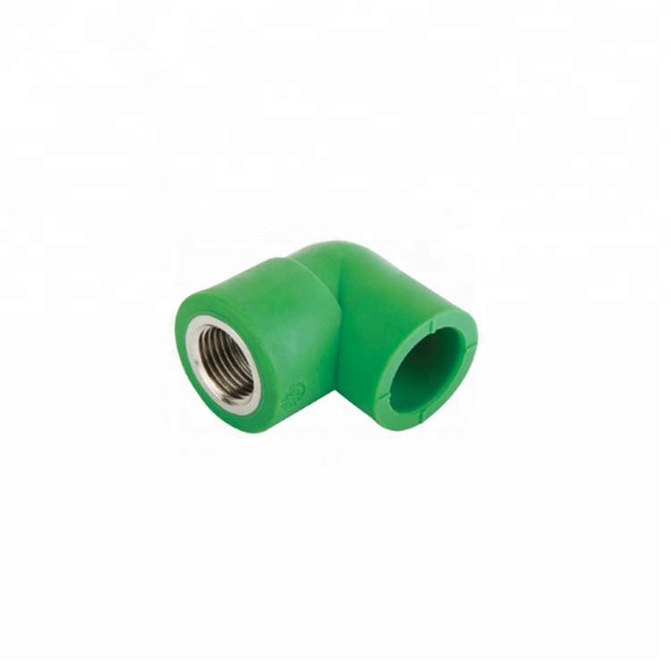Standard Polypropylene PPR Plastic Hot Water Pipe Fittings PP-R Female Threaded Elbow