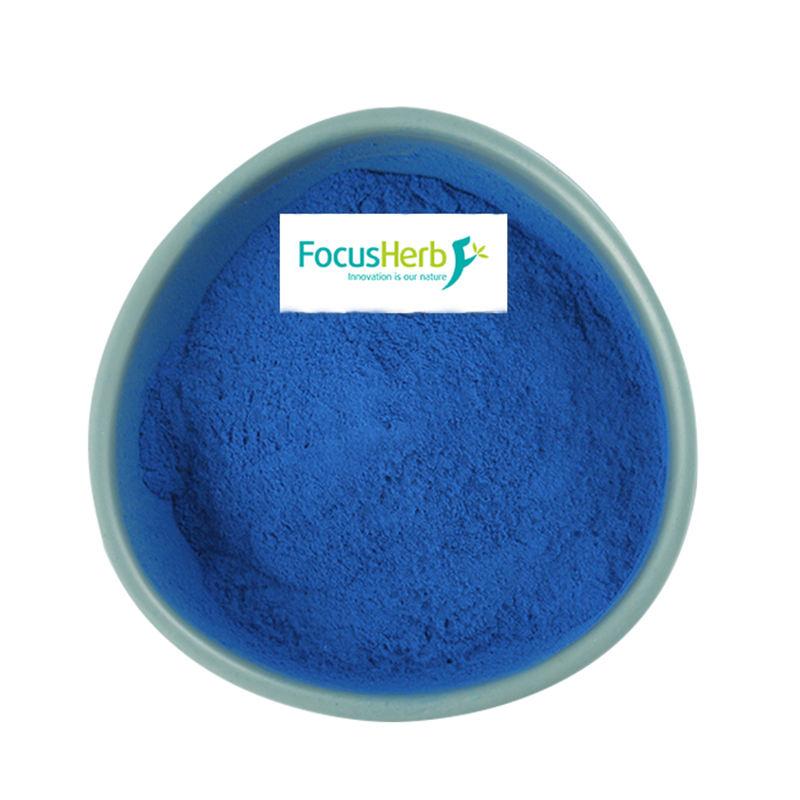 FocusHerb Blue Spirulina Extract E18 Phycocyanin organic phycocyanin powder blue