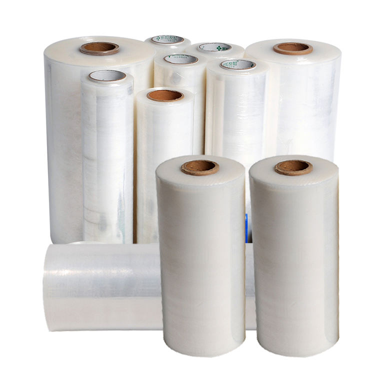 Thickness/Width/Length can customizable lldpe strech film/pallet shrink wrap film