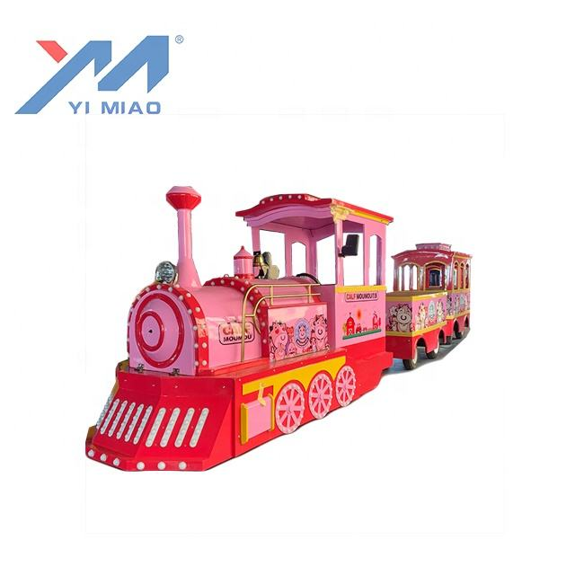 Train Supplier YIMIAO Factory Supplier Electric Tourist Trackless Train