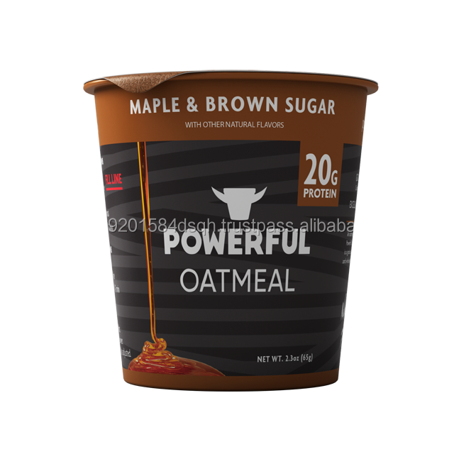 Highly healthy & tasty Maple Brown Sugar Instant Oatmeal