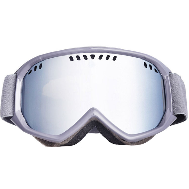 Wholesale anti fog and anti uv snow goggles