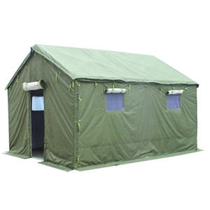Wholesale high quality waterproof disaster relief canvas army tent for military