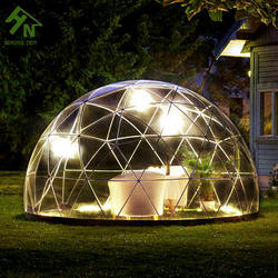 tent factory outdoor transparent garden igloo tent geodesic dome