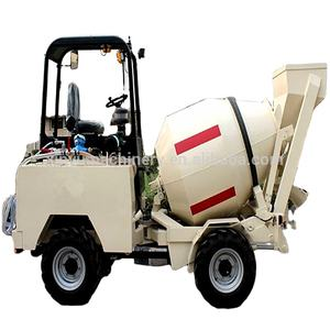 Beton mixer truck SM3.5 self loading mobile concrete mixer for sale