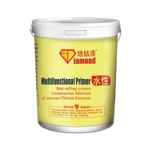 Water-borne epoxy primer cement ground curing agent multifunctional alkali-resistant strengthening primer