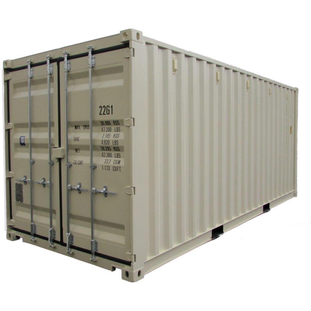 20ft Used Shipping Second-hand Ocean/reefer Container in China with Stock in Tianjin, Ningbo and Guangzhou Port