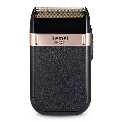 Kemei Razor Reciprocating Electric Shaver for Men Double Blade waterproof Wireless USB Rechargeable Shaver Barber Trimmer