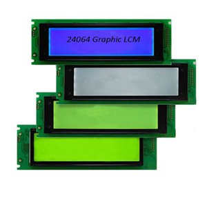 NEW ORIGINAL LCD módulo porta serial 24064 dot matrix LCD gráfico 24064 gráfico LCM