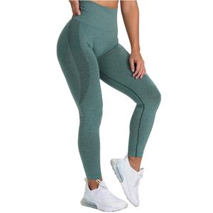 New Forest Green Gym Workout Sports Seamless Leggings