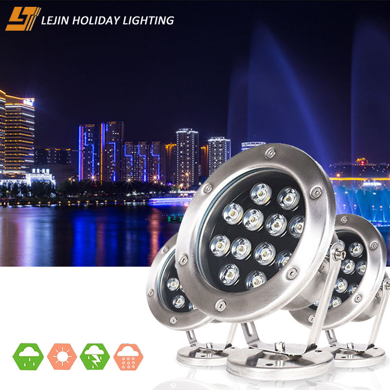 3W/6W/9W/12W/15W/18W/24W/36W led swimming pool lighting underwater