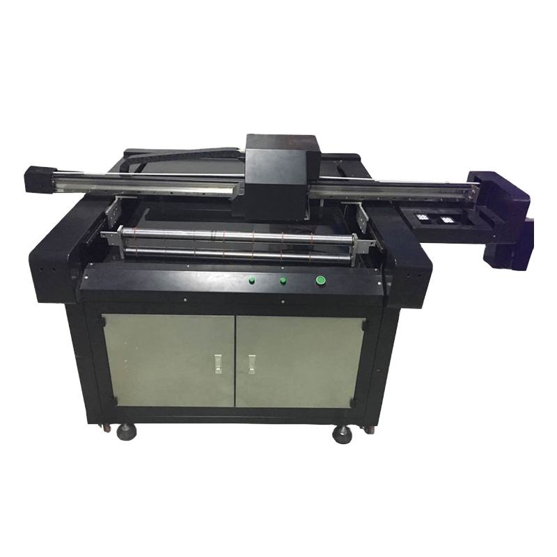 Multifunctionele Digitale <span class=keywords><strong>Flatbed</strong></span> Uv Printer 90*60 Cm