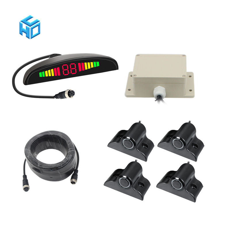 forklift truck front rear reverse measuring space kit parking assist system radar detector oem car smart parking sensor