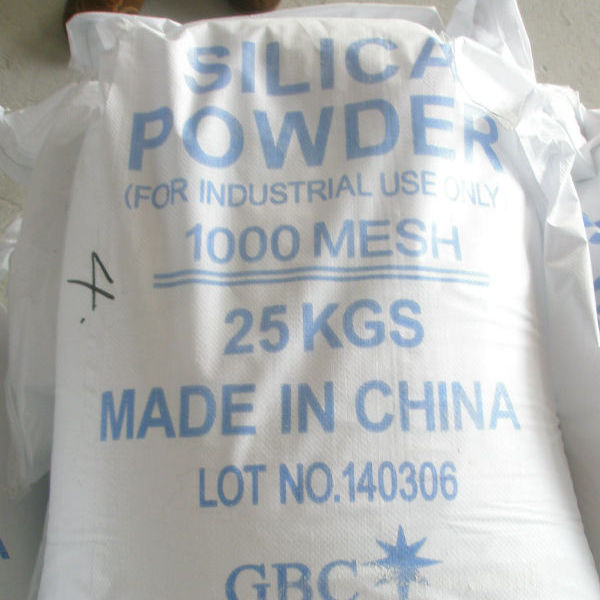 Silica powder for coating use