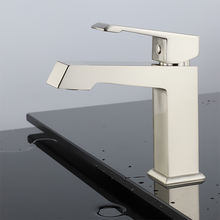 Brushed Nickel basin lavatory faucet in brushed nickel