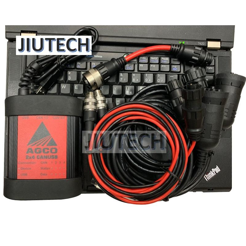 T420 I5 CPU laptop for AGCO tractors Fendt agco dst canusb kit FENDT Electronic full set