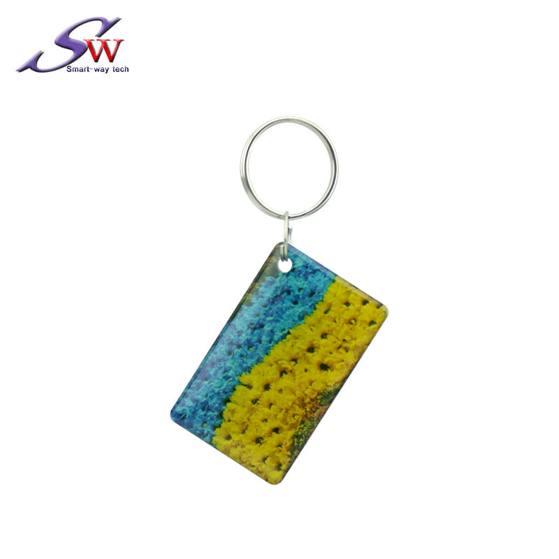 Custom Size Waterproof LF/HF QR Code Rfid Key Tags/Epoxy Tags