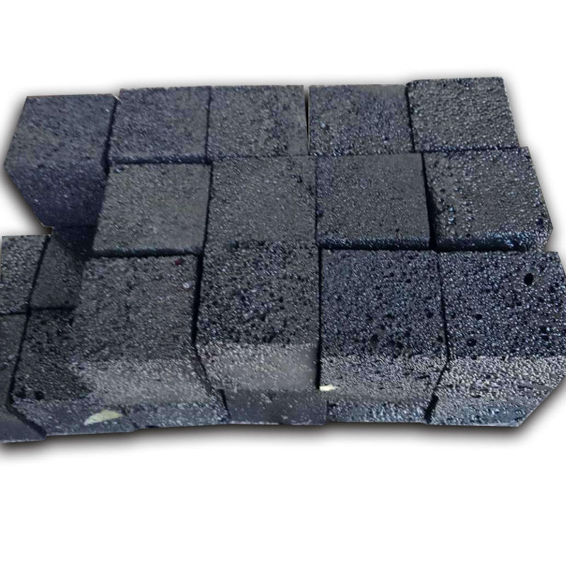 Professional natural volcanic stone tiles lava and basalt stone for sale