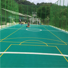 China hot sale outdoor anti-slip materials floor paint for temporary interlocking tiles futsal court flooring