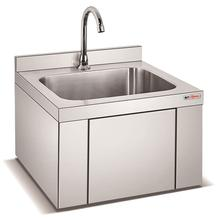 Clean Room Knee Operated Wash Basin 304Stainless Steel Hand Washing Sink in Malaysia/Commercial Outdoors Hand Basin Factory