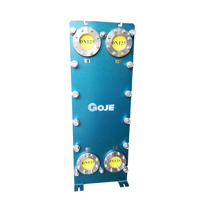 Industrial steam chemical electric power plate heat exchanger price