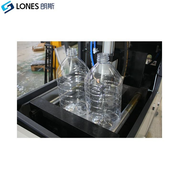 LS-B5L 1cavity semi automatic 5L bottle blowing machine for 1.8L oil bottle with handle energy saving blow molding machine maker