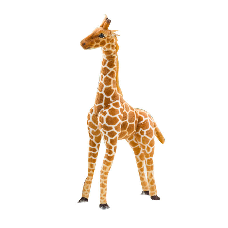 High Qualitycute stuff soft toys plushies stuffed animal custom stuffed plush toy rainbow giraffe