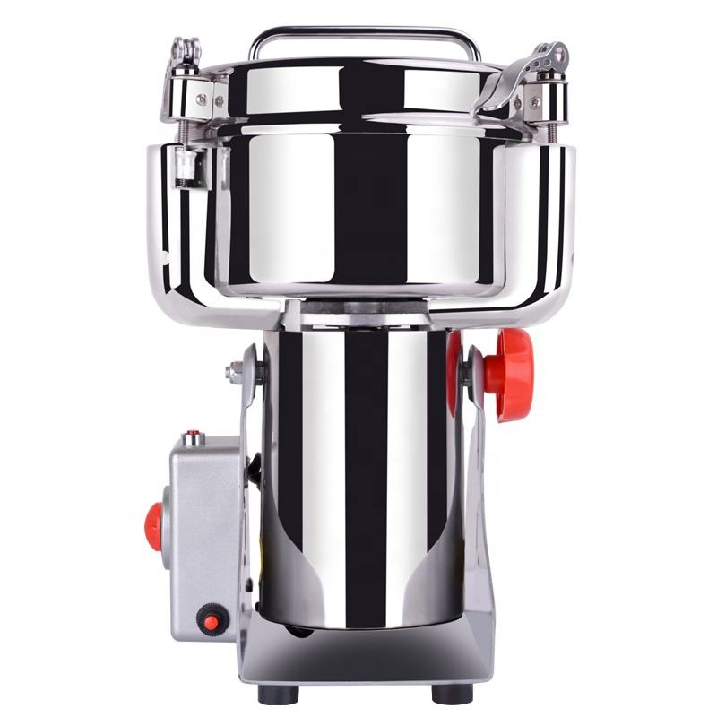 Electric Stainless Steel Safety Device Flour Mill Machine Wheat Milling Machine Corn Grinder 1000G